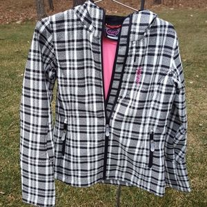 Women's Castle black and white Jacket size M